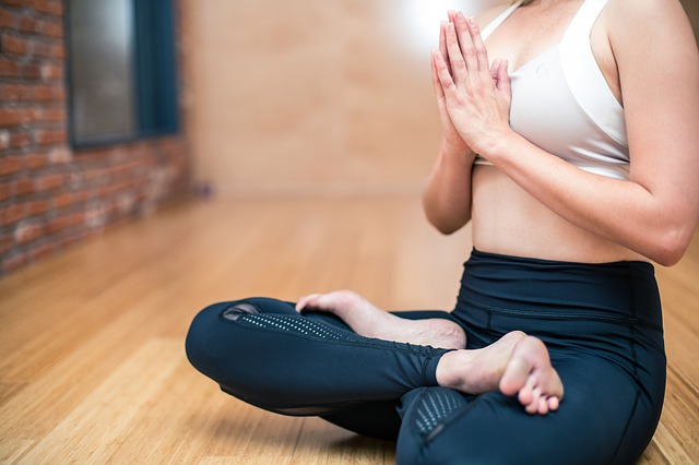 Yoga Exercise Fitness Woman Health