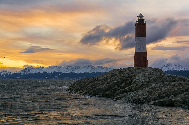Lighthouse Ushuaia Beagle Channel