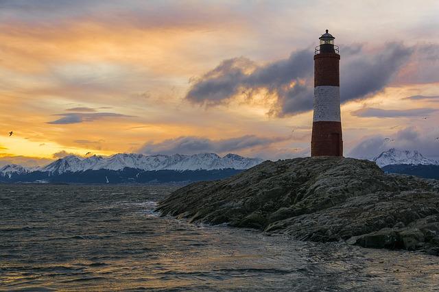 Lighthouse Ushuaia Beagle Channel